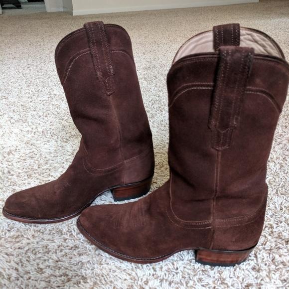 636ac0d1a23 Tecovas suede boots